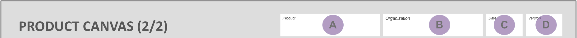 Product Canvas Header Callout